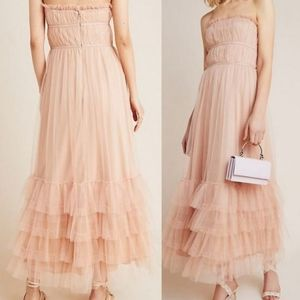 ANTHROPOLOGIE New Maxi Tulle Dress